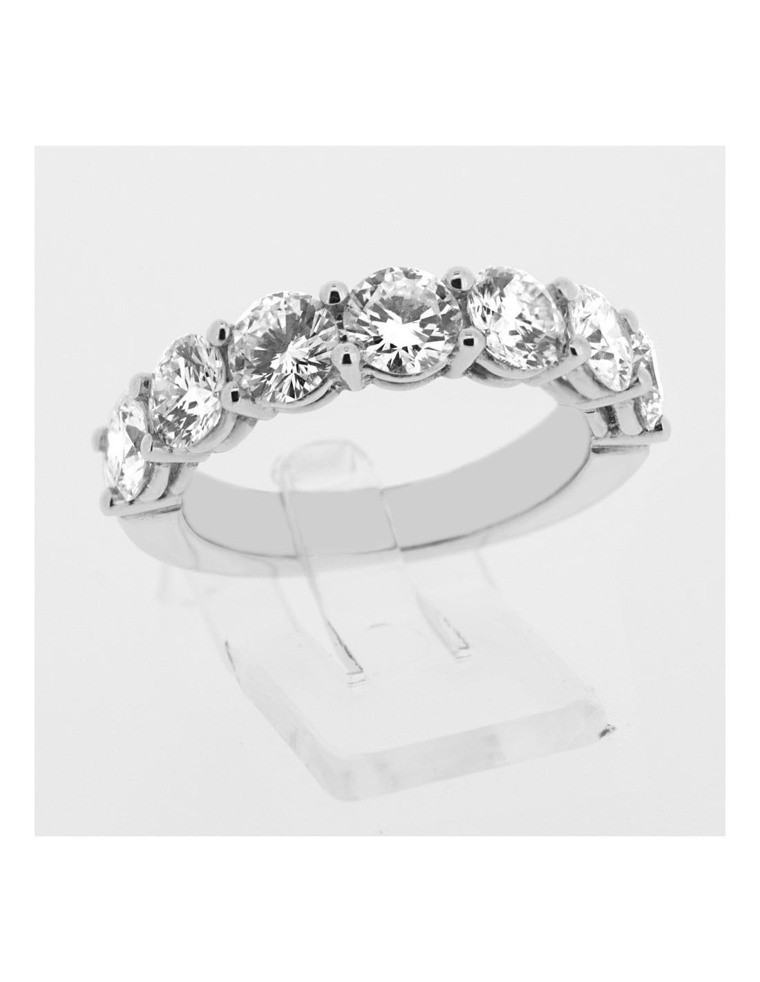 Assez Alliance femme diamants sertis griffes en or 18 carats BO58