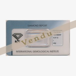 Diamant Rond 0,37ct I - VS2