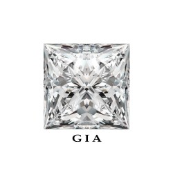 Diamant Princesse 1,14ct G - SI1