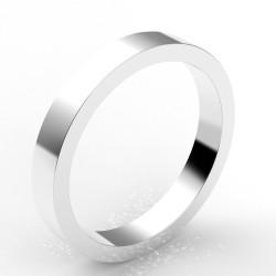 Alliance carré 3 mm - or 18 carats