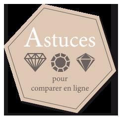Comment comparer des bijoux en diamant sur Internet ?