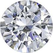 diamant rond de placement et d'investissement