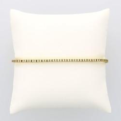 Bracelet rivière femme 86 diamants (1,41 carat) fermeture avec cliquet et huits de sécuité - or 18 carats