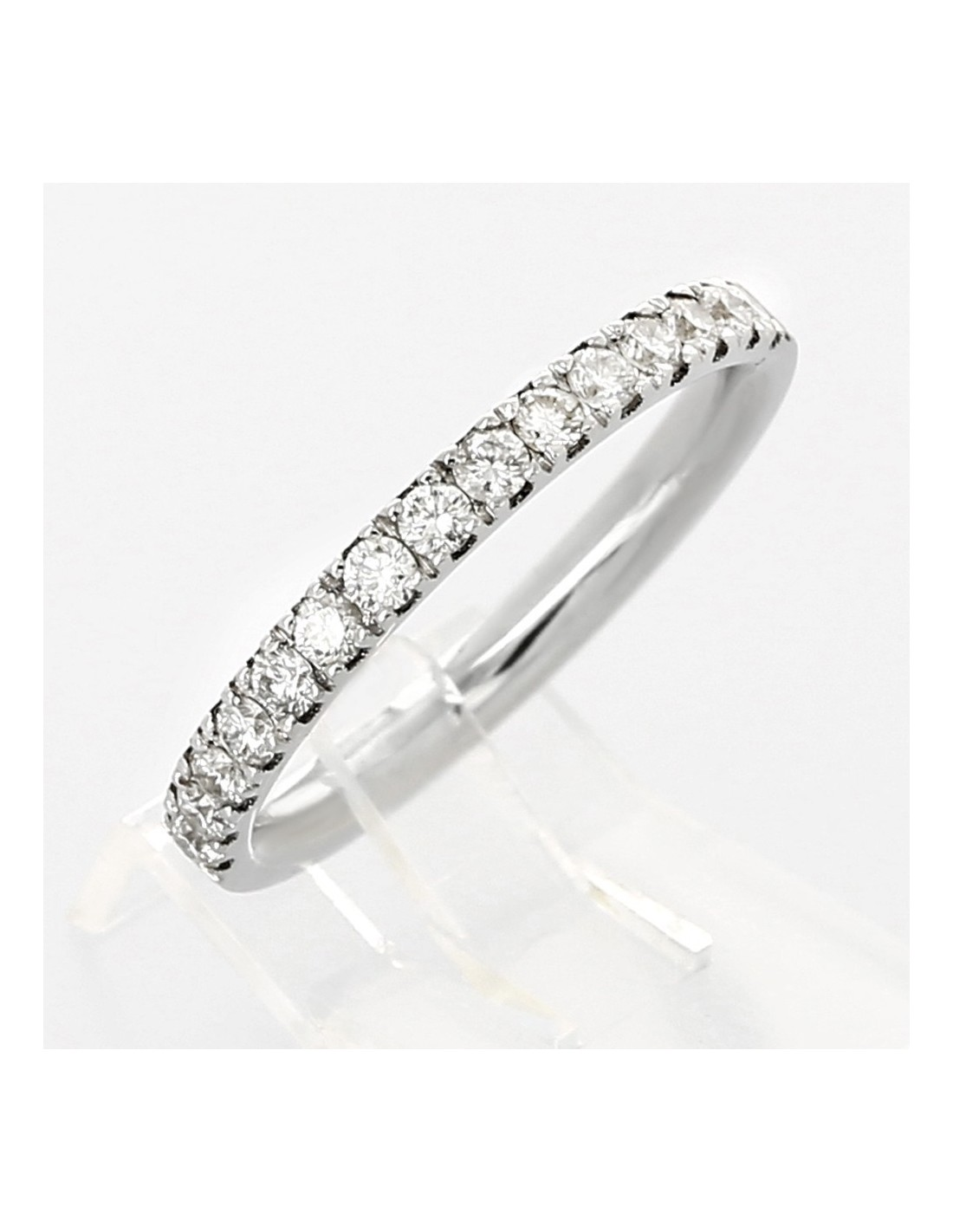 Alliance Femme En Or Et Diamants Eden Tellor Diamantaire