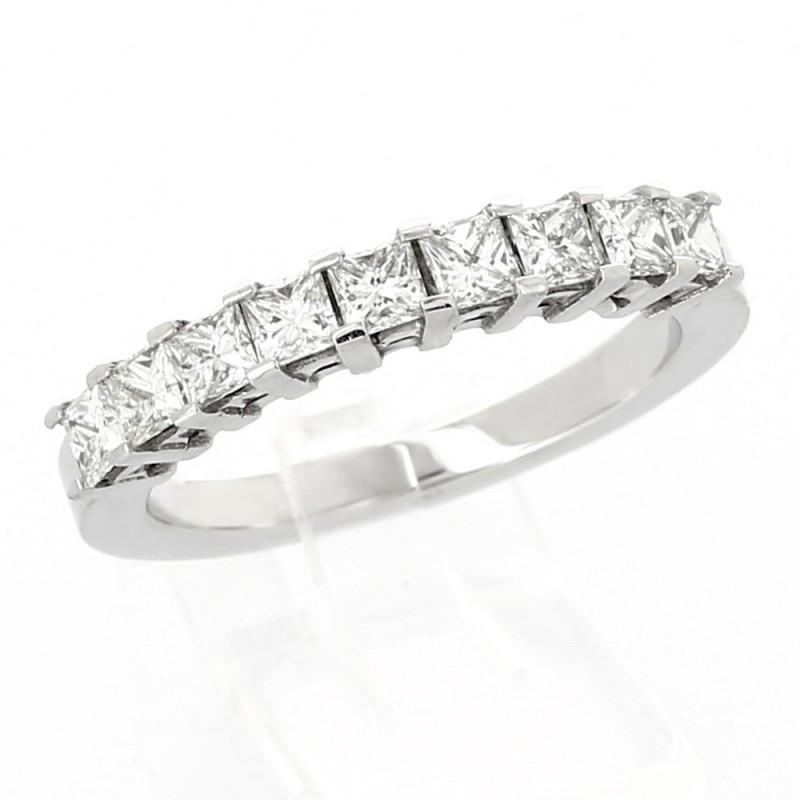 Alliance Femme Or Et Diamants Princesse