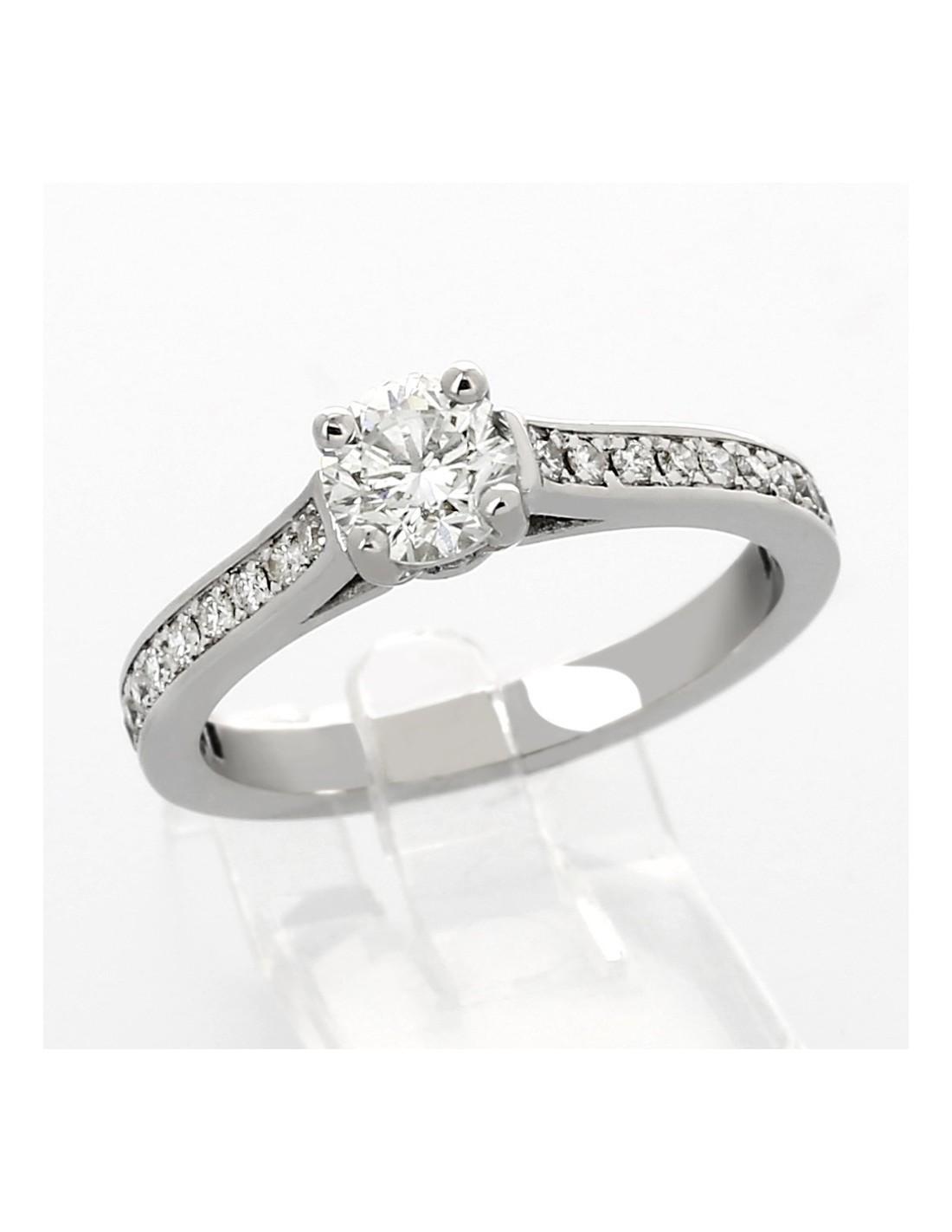 bague diamant de fiancaille