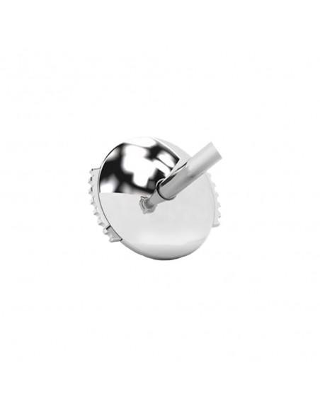 Boucles d'oreilles femme serties de 2 poires diamant (total de 0,80 carat) montées sur chatons 3 griffes en or 18 carats