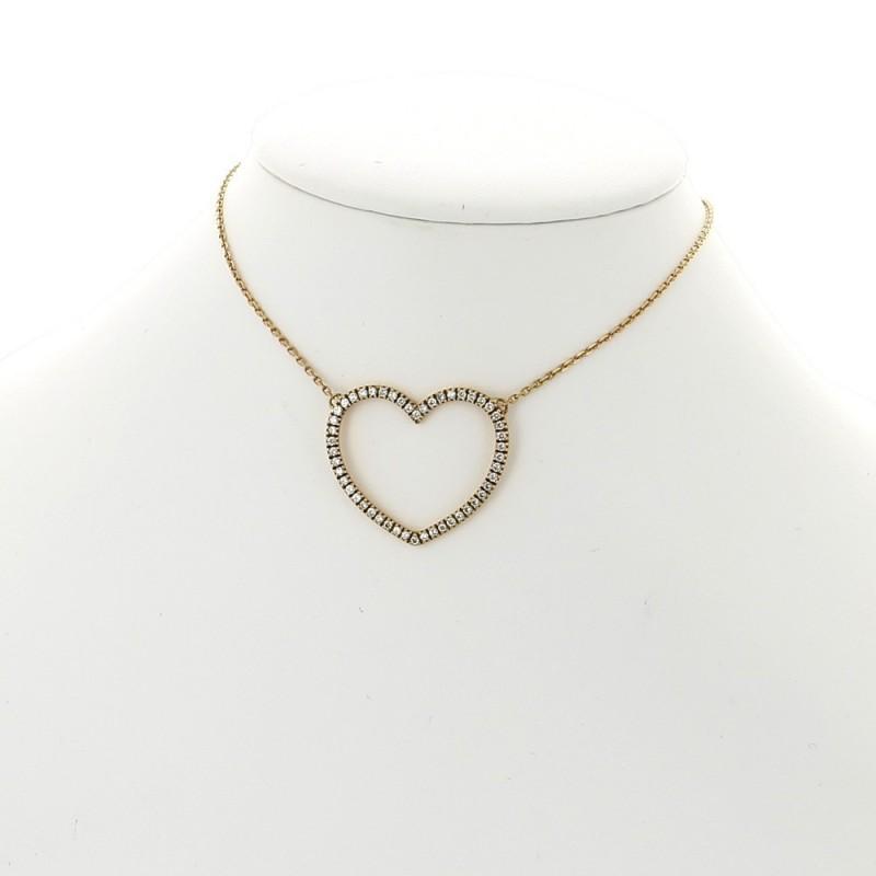collier femme or pendentif