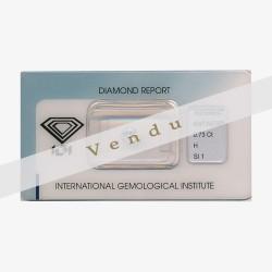 Diamant Rond 0,73ct H - SI1