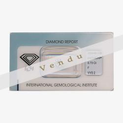 Diamant Rond 0,73ct F - VVS2