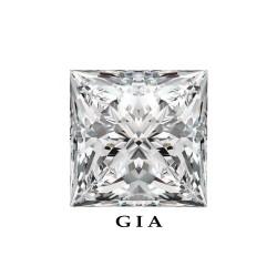 Diamant Princesse 1,14ct G - SI1